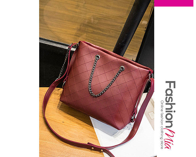 Image of New Style Plain Chic Women Hand Bags