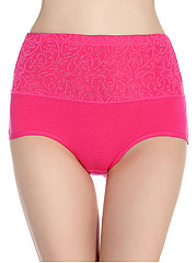 Plus Size High Waisted Body Fitness Tight  Lady Panty