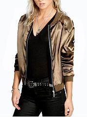 Band-Collar-Zips-Plain-Bomber-Jacket