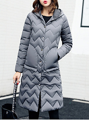 Hooded-Patch-Pocket-Plain-Zigzag-Striped-Longline-Padded-Coat