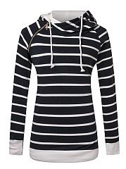Striped-Zips-Raglan-Sleeve-Hoodie