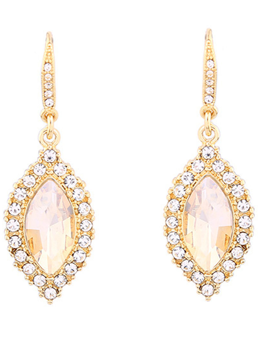 Exquisite Rhinestone Drop Earrings