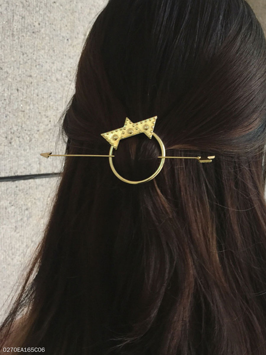 Crown Arrow Shape Hair Clip
