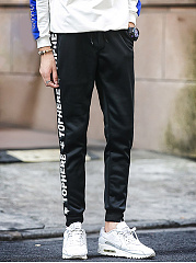 Letters-Printed-Mens-Elastic-Waist-Casual-Jogger-Pants