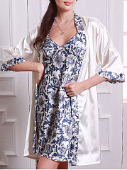 Blue-And-White-Porcelain-Two-Pieces-Pajama-Set