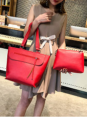 Two Pieces Plain Shoulder Bags For Women
