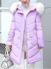 Hooded-Pocket-Quilted-Plain-Padded-Long-Coat