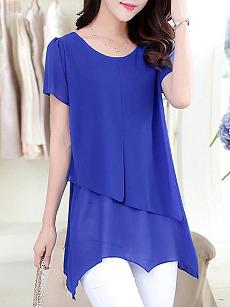 Zozo ebay Button Down Collar Stripes Roll Up Sleeve Half Sleeve Maxi Dresses make you