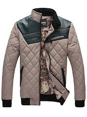 Men-High-Neck-Patchwork-Quilted-Color-Block-Padded-Coat