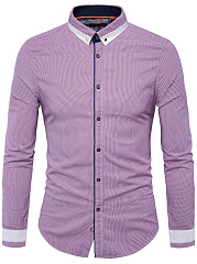 Button-Down-Collar-Printed-Men-Shirt