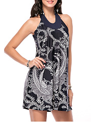 Loose-Paisley-Printed-Shift-Dress
