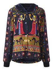 Hooded-Tribal-Printed-Fleece-Lined-Coat