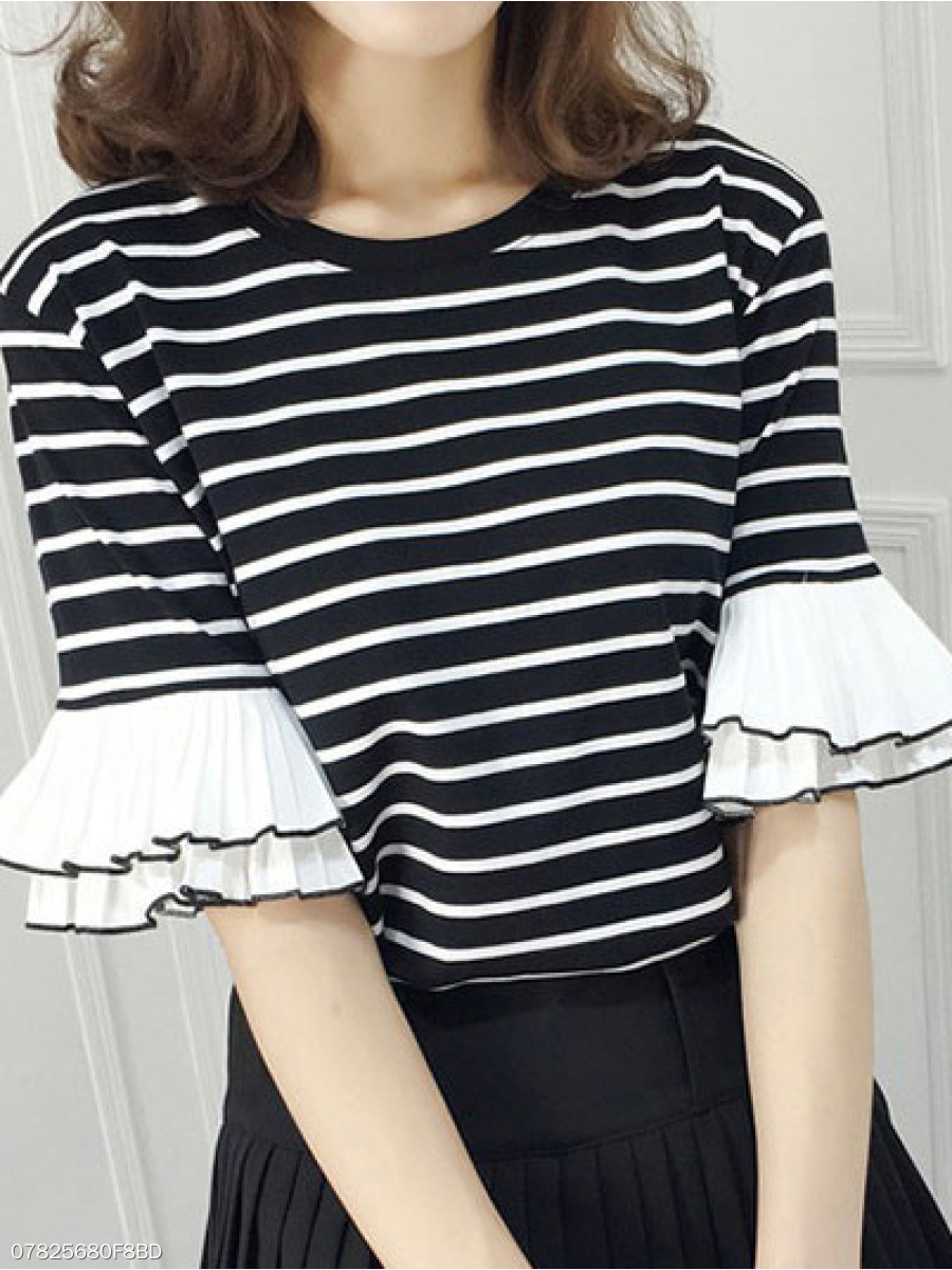 https://www.fashionmia.com/Products/polyester-round-neck-striped-half-sleeve-short-sleeve-t-shirts-231891.html