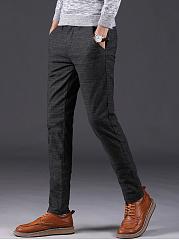 Striped-Pocket-Slim-Leg-Mens-Casual-Pants