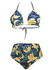 Halter-Backless-Printed-Bikini