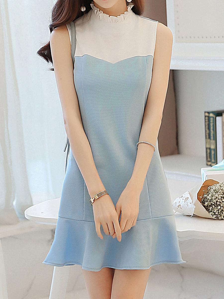 Color Block Bodycon Dress