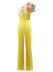 One-Shoulder-Embroidery-Flounce-Flared-Jumpsuit