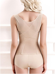 Sexy Adjustable Breathable Hollow Soft Stretchy Belly Control Underbust Corset For Women