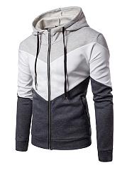 Hooded-Color-Block-Pocket-Zips-Men-Coat