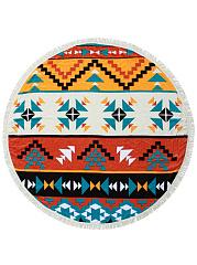 Geometric-Printed-Round-Fringe-Beach-Shawl