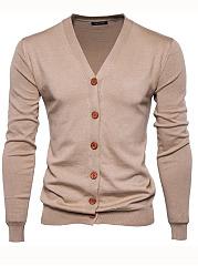 Basic-Single-Breasted-Plain-Mene28099S-Cardigan