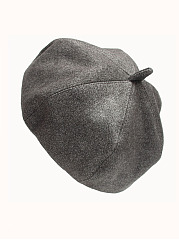 Fashion Beret Plain Chamois Hats