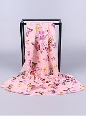 Chiffon Butterfly Printed Scarves