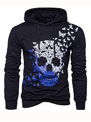 Butterfly-Skull-Printed-Men-Hoodie