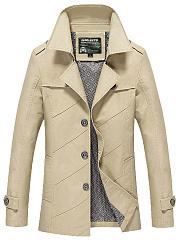 Plain-Men-Lapel-Single-Breasted-Pocket-Jacket