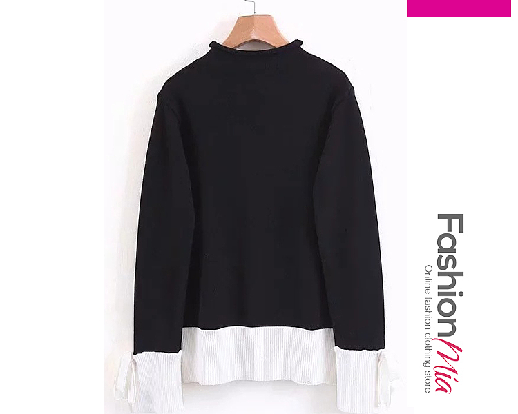 gender:women, hooded:no, thickness:regular, brand_name:fashionmia, style:elegant,fashion, material:knit, collar&neckline:high neck, sleeve:long sleeve, embellishment:patchwork, how_to_wash:cold  hand wash, occasion:basic,daily,date, season:autumn,winter, package_included:top*1, lengthshouldersleeve lengthbust