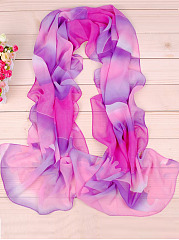 Grace And Peculiar Cloud Chiffon Scarf