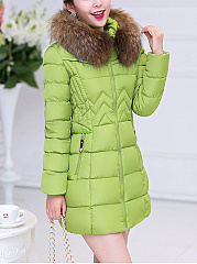 Hooded-Zipspocket-Plain-Quilted-Padded-Coat