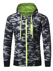 Camouflage-Hooded-Pocket-Zips-Men-Coat