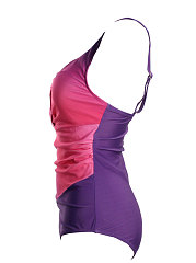 Attractive Keyhole  Gradient One Piece