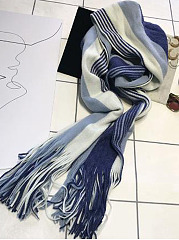Soft Warm Suede Asymmetric Strip Scarf For Winter