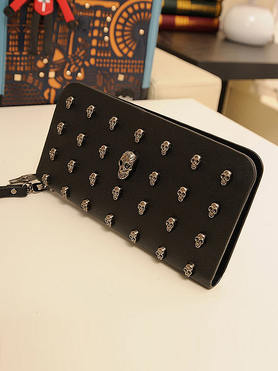 Fashionable PU Zip Wallet