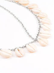 See Shell Pendant Head Chain
