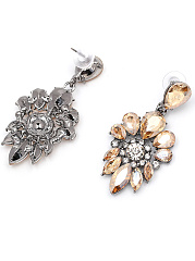 Courtly Imitated Crystal Rhinestone Drop Earrings