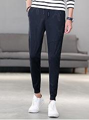 Mens-Sport-Elastic-Waist-Printed-Jogger-Pants