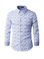 Geometric-Printed-Small-Lapel-Mens-Shirt