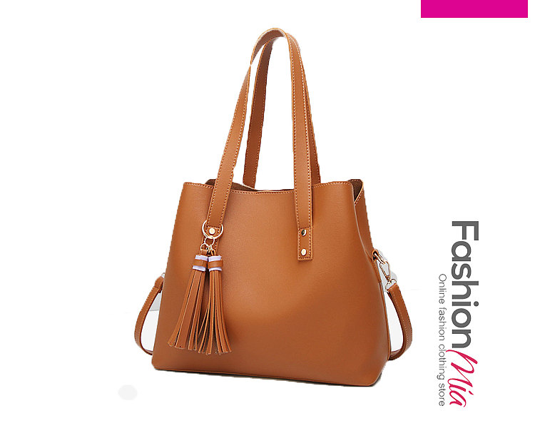 Image of 2018 New Style Plain Shoulder Bags For Women