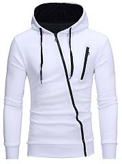 Contrast-Zips-Men-Hoodie