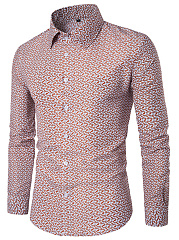 Turn-Down-Collar-Printed-Men-Shirts