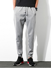 Plain-Drawstring-Mens-Casual-Jogger-Pants