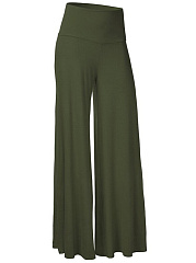 Plain-Wide-Leg-Casual-Pants