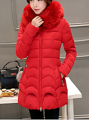 Hooded-Zips-Pocket-Quilted-Plain-Padded-Coat