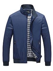 High-Neck-Plain-Zips-Pocket-Men-Jacket