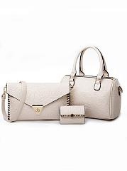 Fashion-Europe-Stylish-Rose-Printed-Hand-Bag-(Three-Pieces)