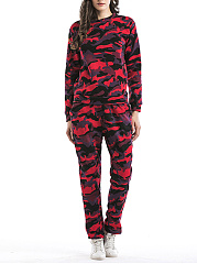 Camouflage-Crew-Neck-Sweatshirt-And-Slim-Leg-Pants