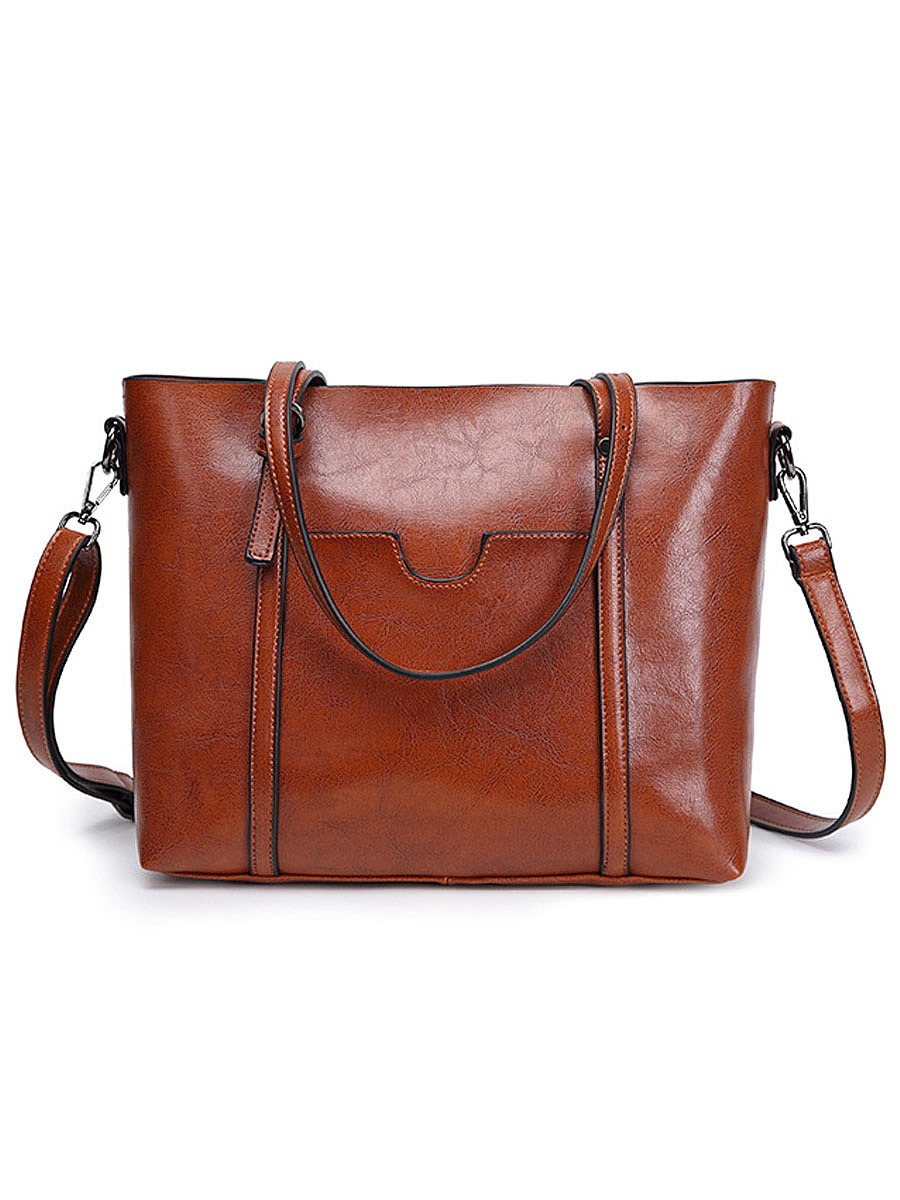 High Quality Basic Big Capacity Shoulder Bag